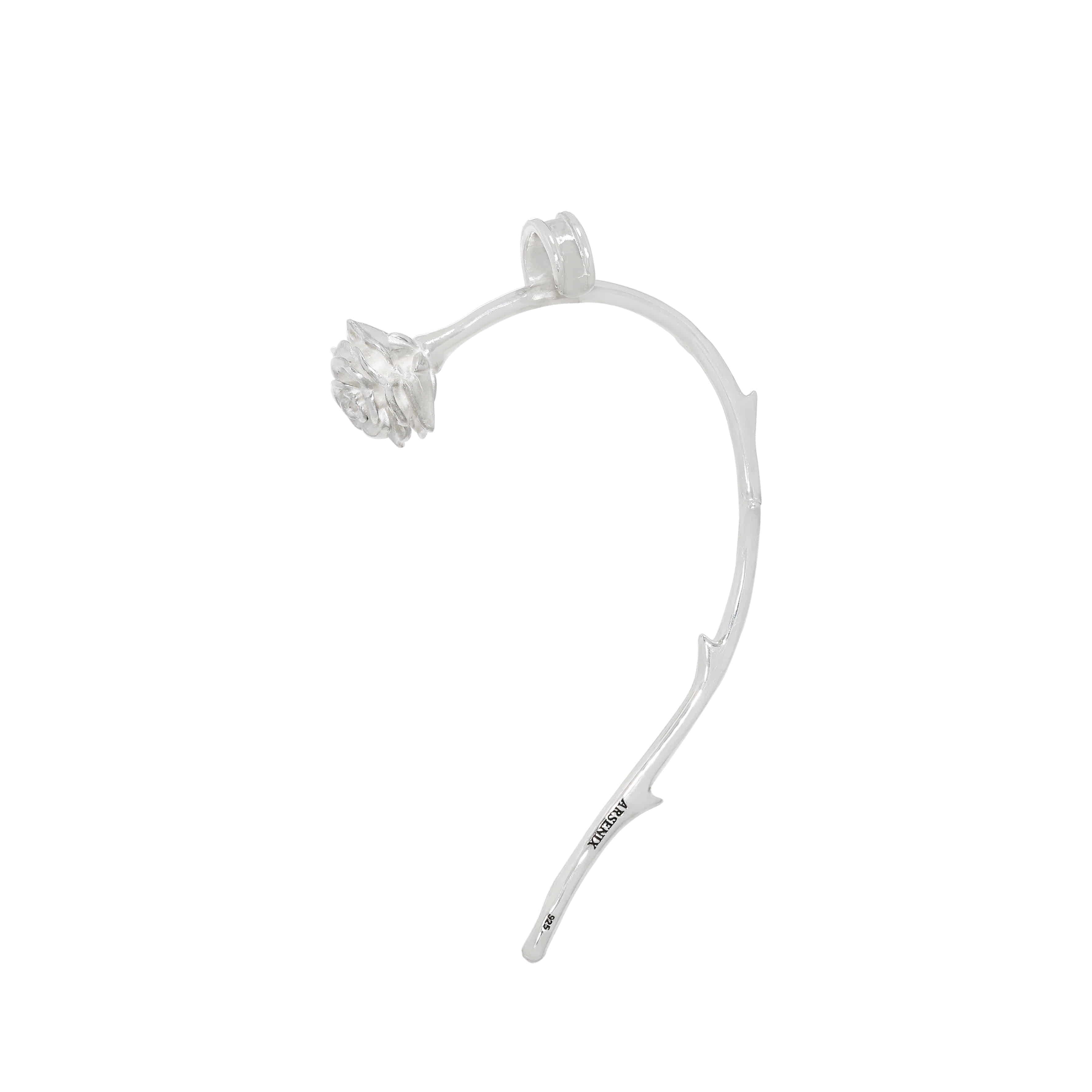 One Rose Ear Cuff
