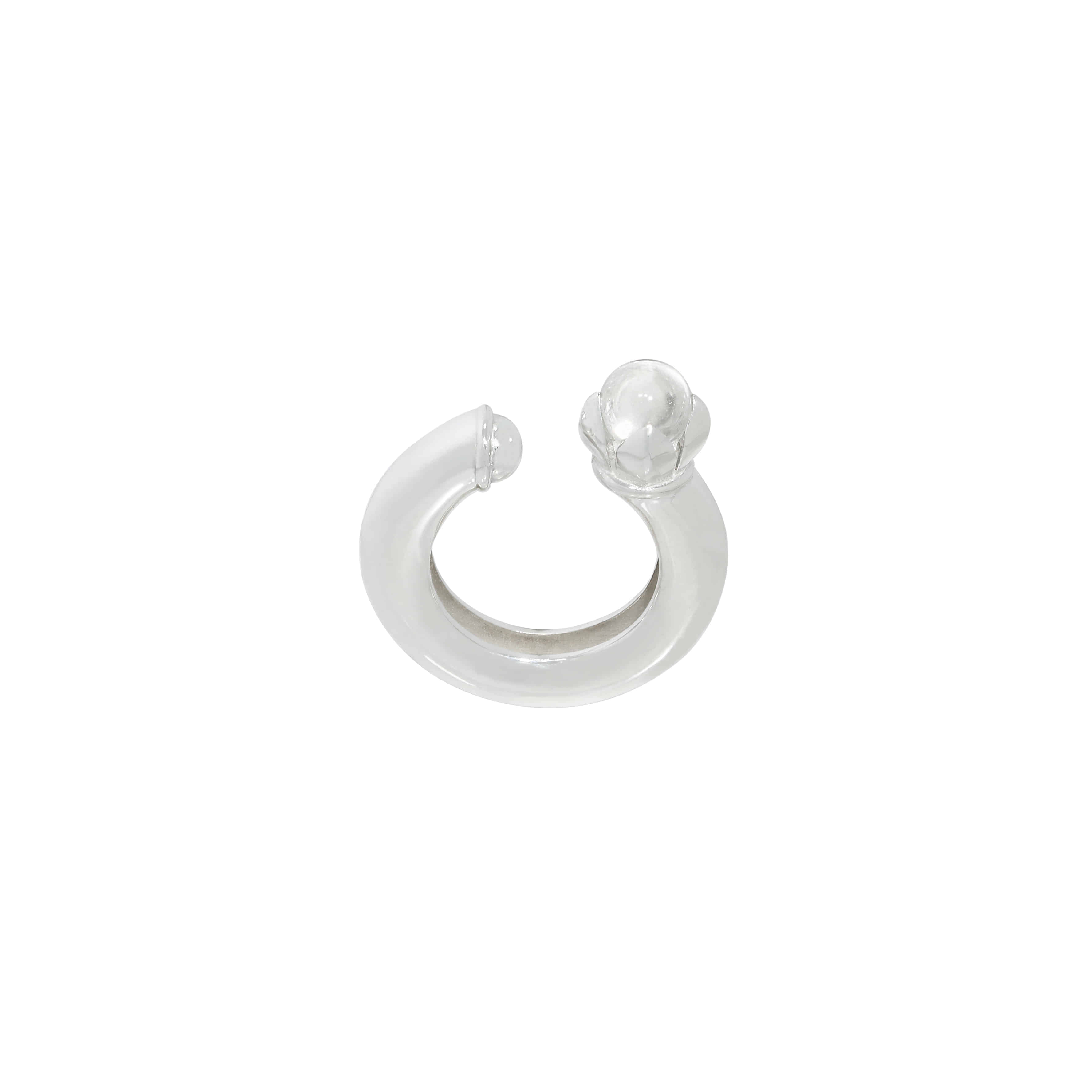 Circle Ring 3way Ear Cuff (3Color)